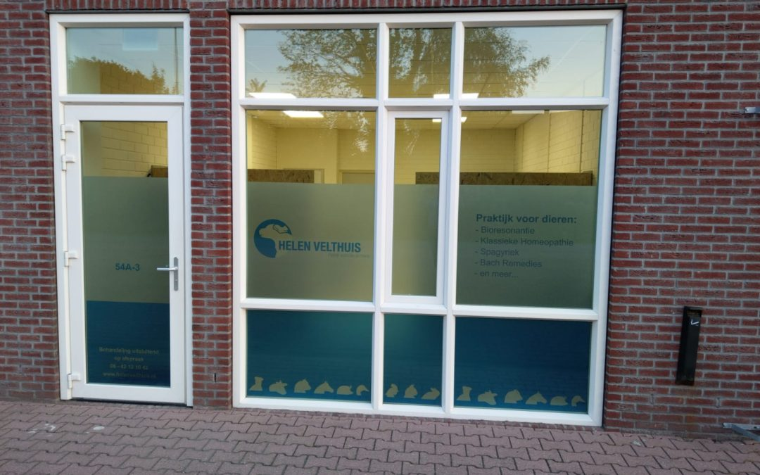 'Helen Velthuis, Praktijk voor dier en mens' gaat een nieuwe weg inslaan!